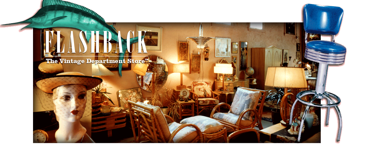 Fine Vintage Clothing, Furniture, and Household Goods